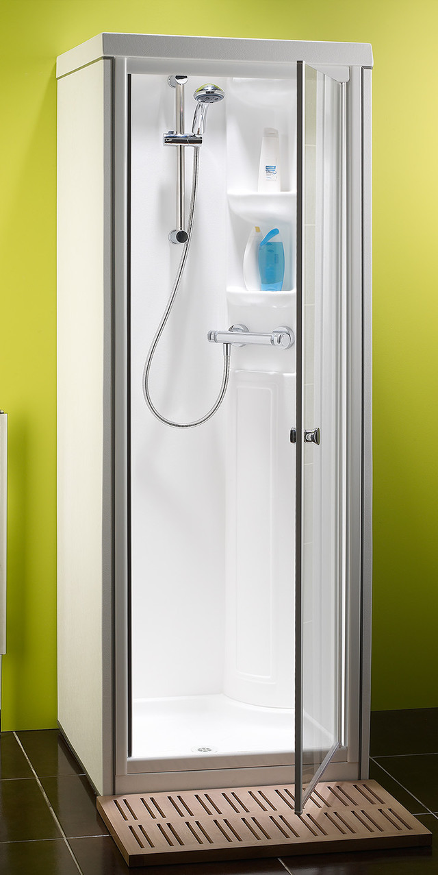 The Kingston Compact range of shower cubicles